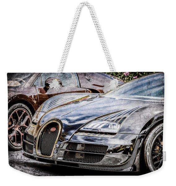Bugatti Legend - Veyron Special Edition -0845ac Weekender Tote Bag
