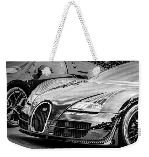 Bugatti Legend - Veyron Special Edition -0845bw Weekender Tote Bag