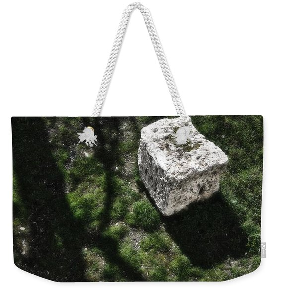 Building Block Jerusalem Old City Wall Weekender Tote Bag