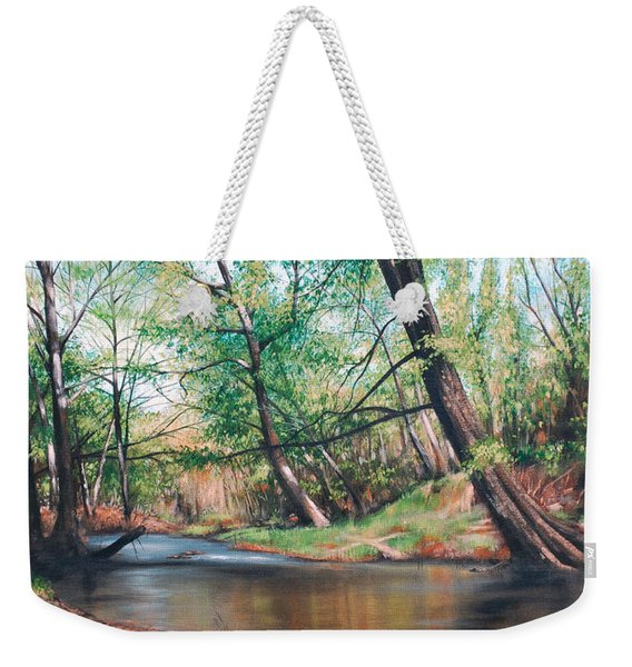 Bull Creek Weekender Tote Bag