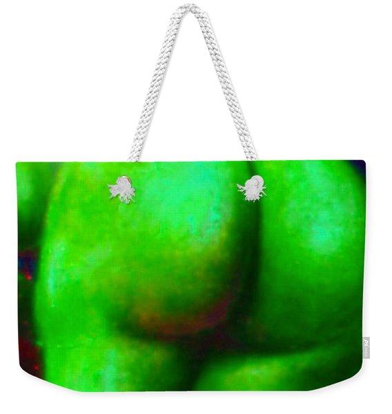 Bum With Vegetable Ass-ociations Weekender Tote Bag
