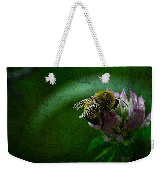 Bumble Bee Tattered Wings Art 2 Weekender Tote Bag