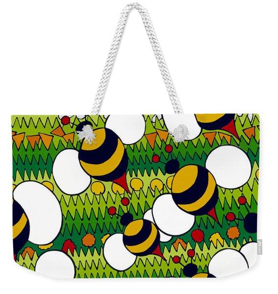 Bumble Weekender Tote Bag