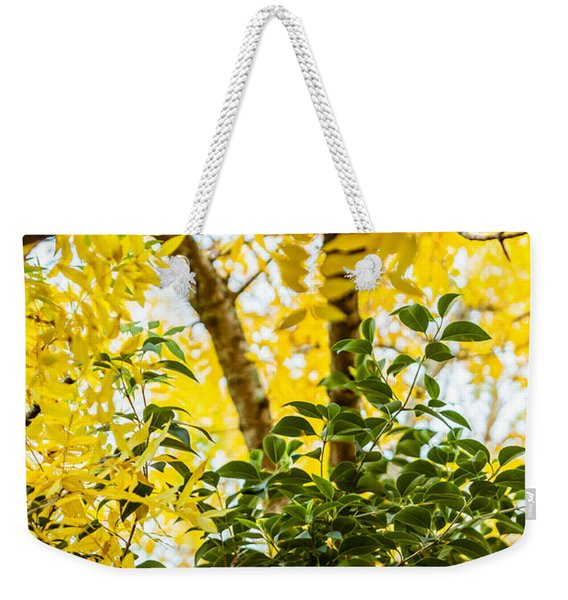 Bunch Of Green Weekender Tote Bag