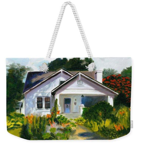 Bungalow In Sunlight Weekender Tote Bag