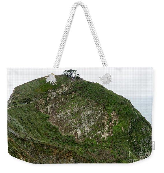 Bunker Hill Along The Devils Slide Coastal Trail Pacifica California Dsc772 Weekender Tote Bag