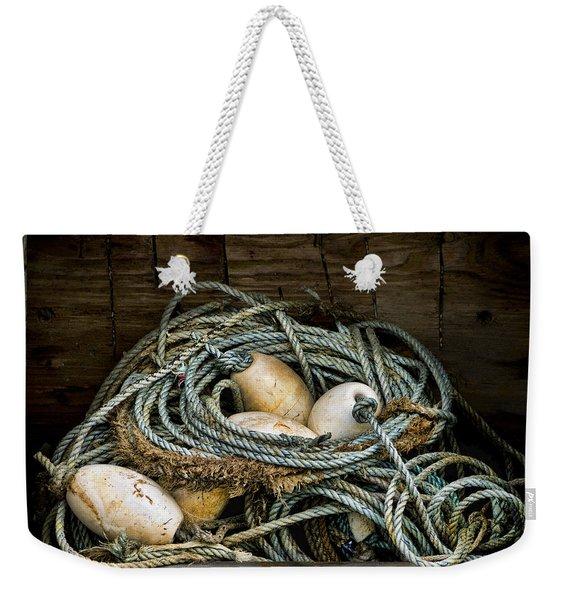 Buoys In A Box Weekender Tote Bag