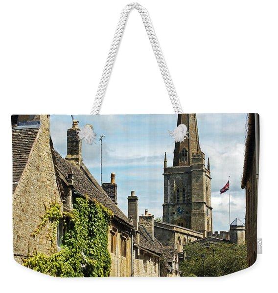 Burford Village Street Weekender Tote Bag