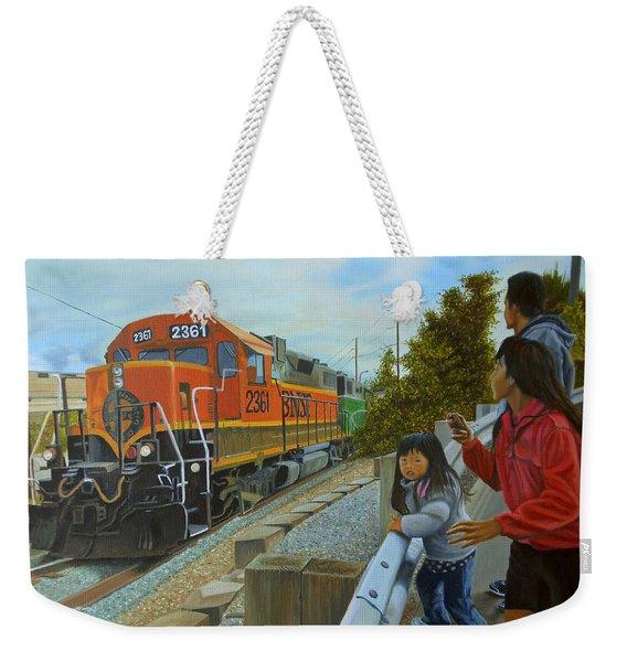 Burlington Northern Santa Fe Weekender Tote Bag