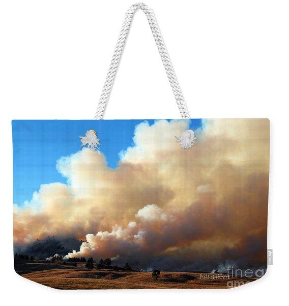 Burning In The Black Hills Weekender Tote Bag