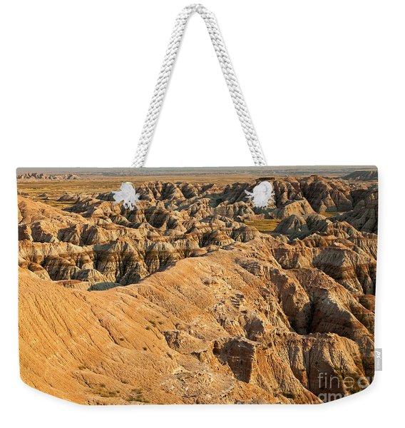 Burns Basin Overlook Badlands National Park Weekender Tote Bag