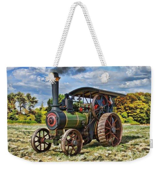 Burrell Steam Engine  Weekender Tote Bag