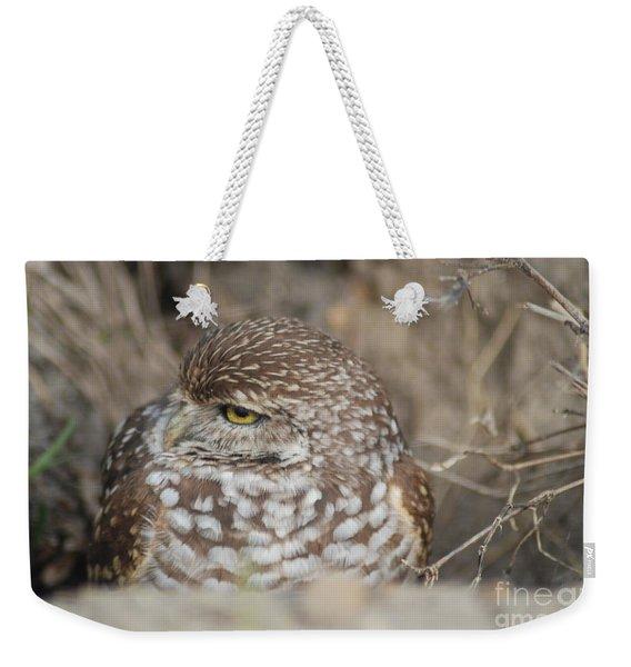 Burrowing Owl Weekender Tote Bag