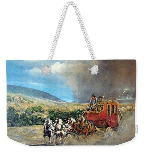 Business As Usual Weekender Tote Bag