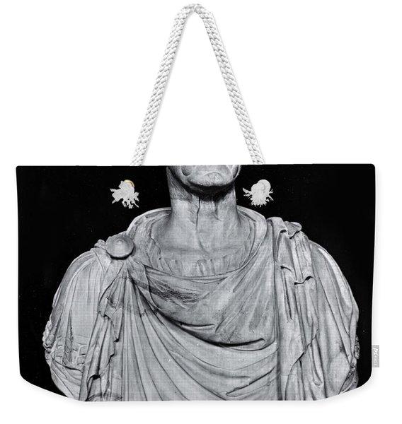 Bust Of Marcus Licinius Crassus Weekender Tote Bag