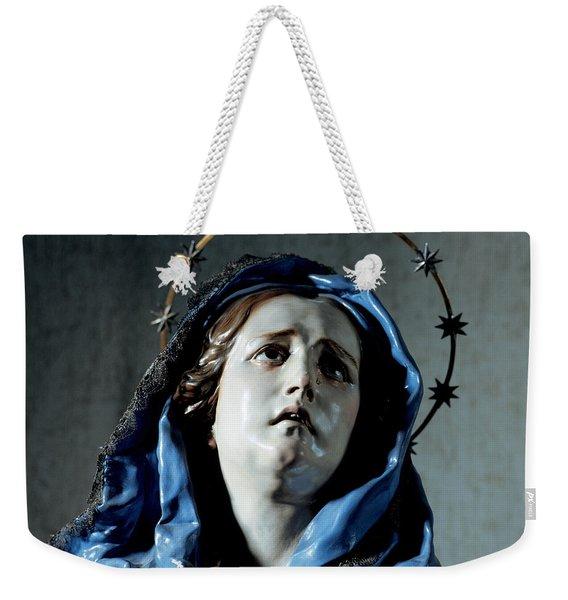 Bust Of Painful Virgin Weekender Tote Bag