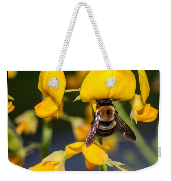 Busy Bee 3 Weekender Tote Bag