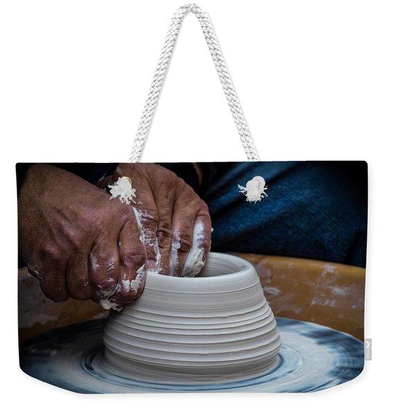 Busy Hands Weekender Tote Bag