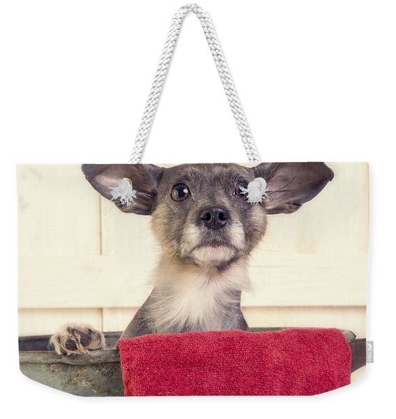 But I Don't Want A Bath Weekender Tote Bag