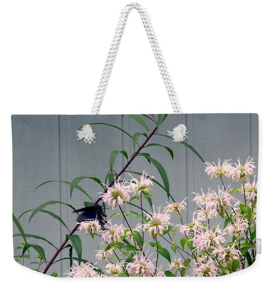 Butterfly At Rest Weekender Tote Bag