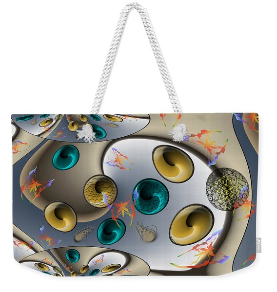 Butterfly Fractal Palette Weekender Tote Bag