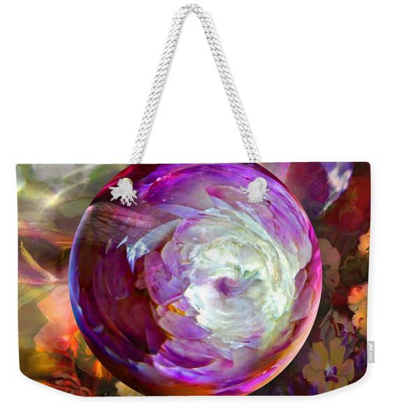 Butterfly Garden Globe Weekender Tote Bag