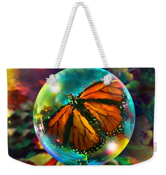 Butterfly Monarchy Weekender Tote Bag