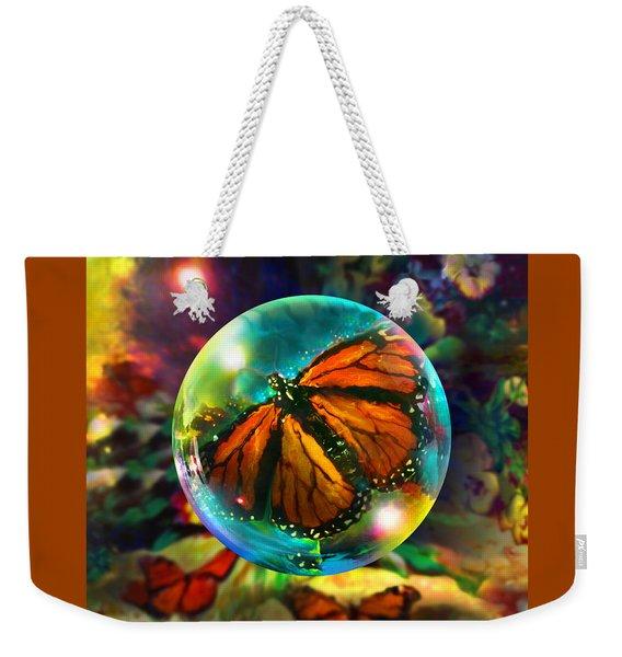 Butterfly Monarchy Weekender Tote Bag