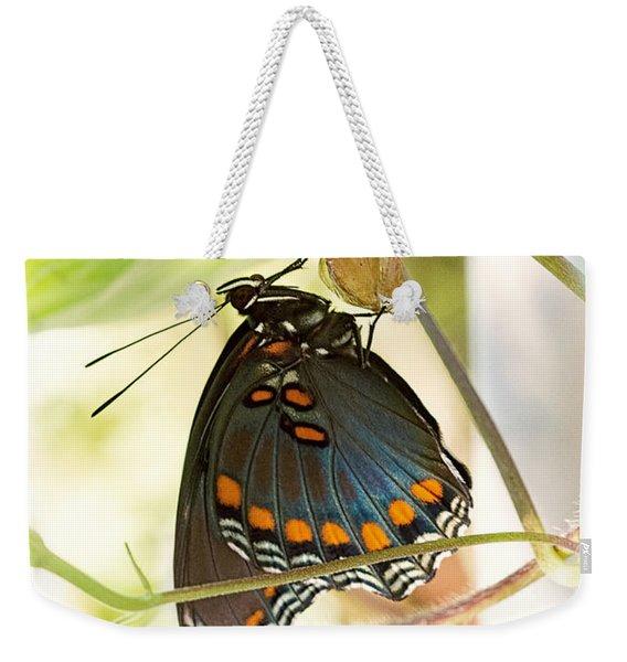 Butterfly Nursery Weekender Tote Bag