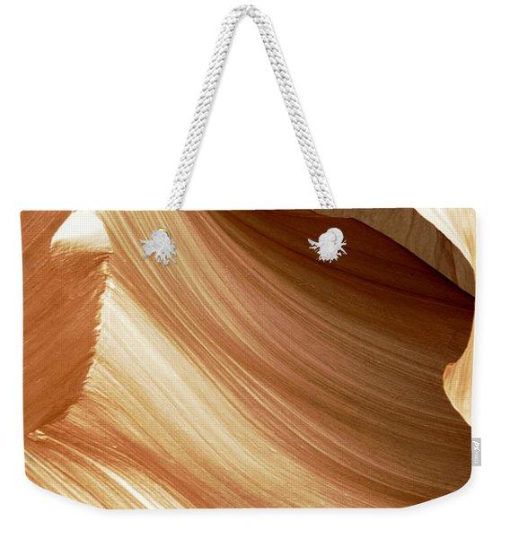 Butterscotch Taffy Antelope Canyon Weekender Tote Bag