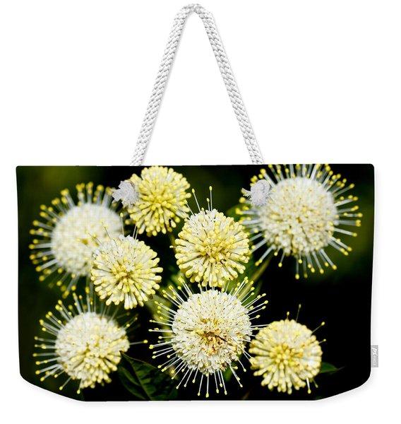 Buttonbush Weekender Tote Bag