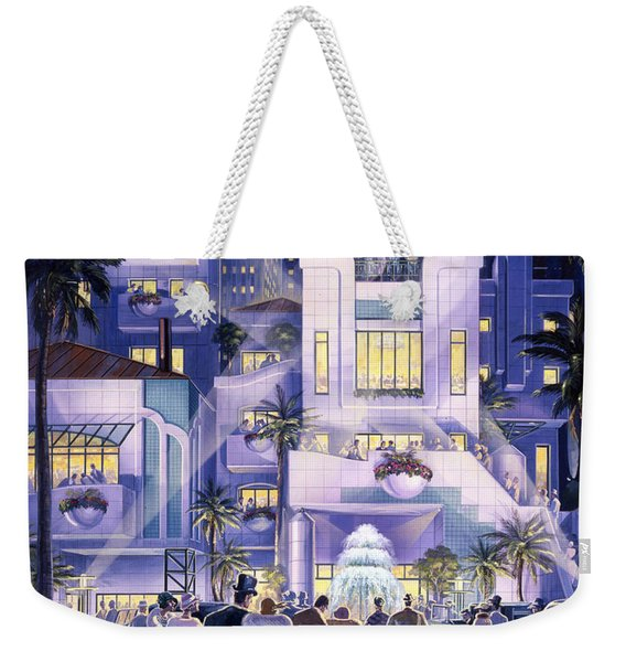 By Invitation Only Weekender Tote Bag