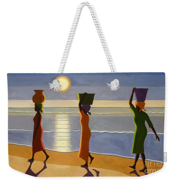 By The Beach Weekender Tote Bag