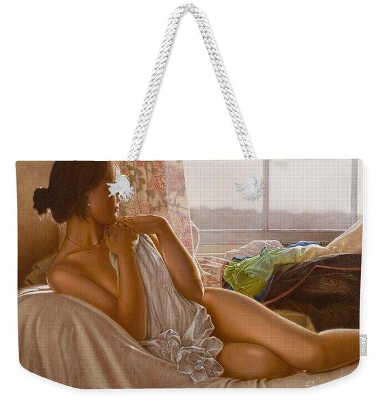 By The Window Weekender Tote Bag