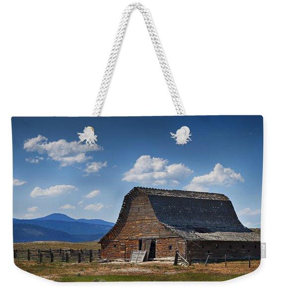 Bygone Days Barn Weekender Tote Bag