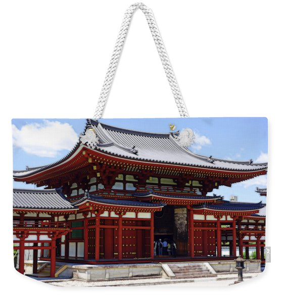 Byodo-in Temple Central Hall - Japan Weekender Tote Bag