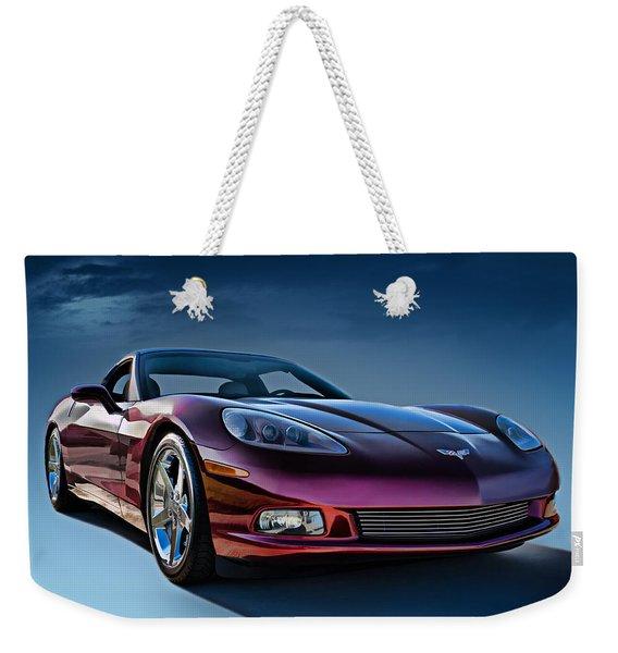 C6 Corvette Weekender Tote Bag