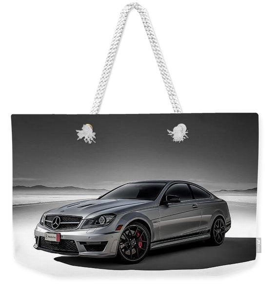 C63 Amg Weekender Tote Bag