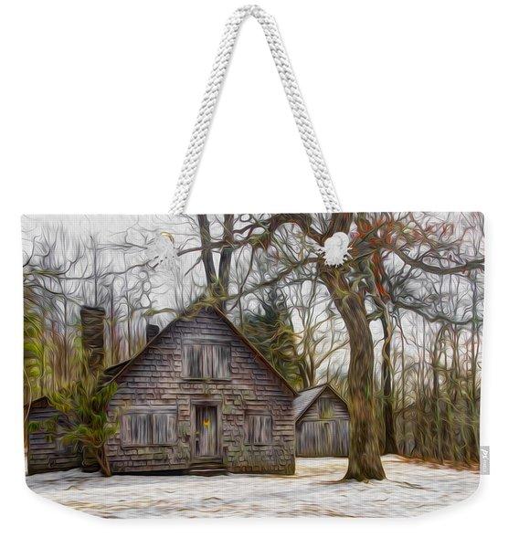Cabin Dream Weekender Tote Bag