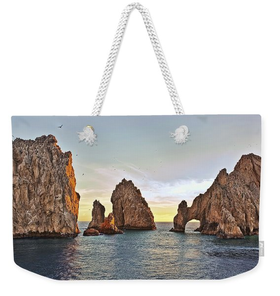 Cabo San Lucas Arch Sunset Weekender Tote Bag