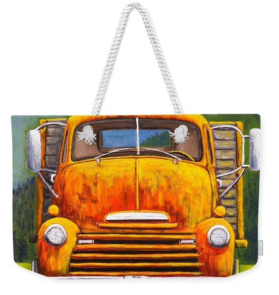 Cabover Truck Weekender Tote Bag