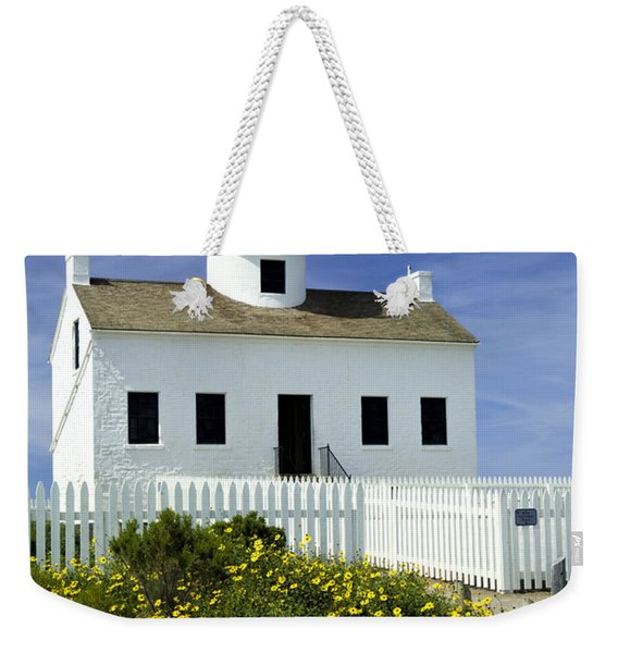 Cabrillo National Monument Lighthouse No 2 Weekender Tote Bag