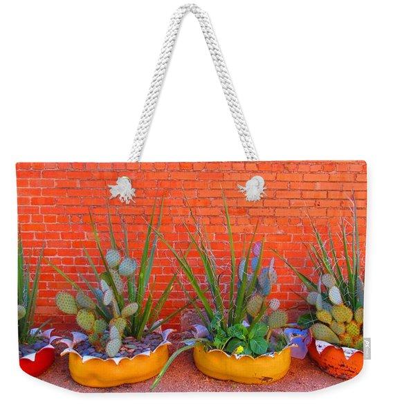 Cacti Quartet Weekender Tote Bag