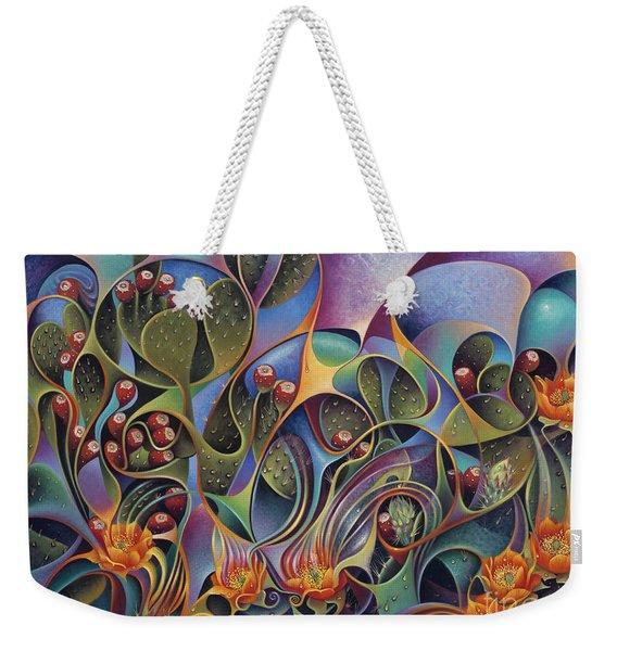 Cactus Dinamicus 3d Weekender Tote Bag