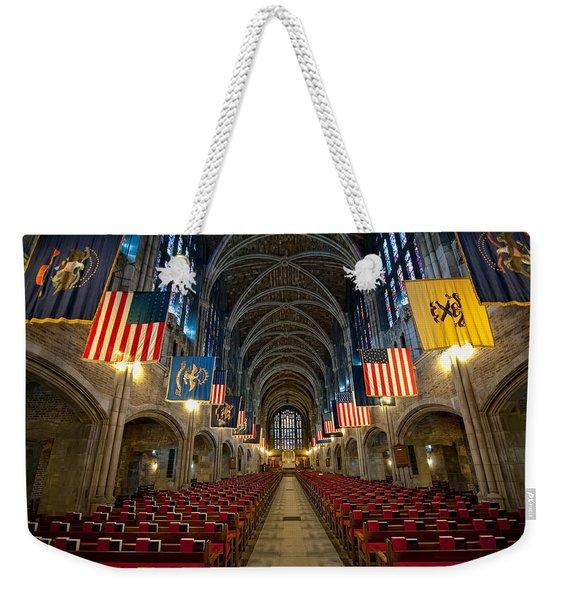 Cadet Chapel Weekender Tote Bag