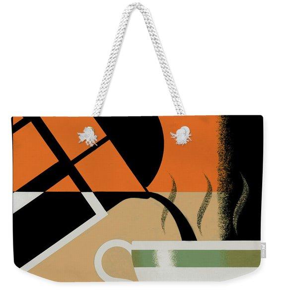Cafe Noir Weekender Tote Bag