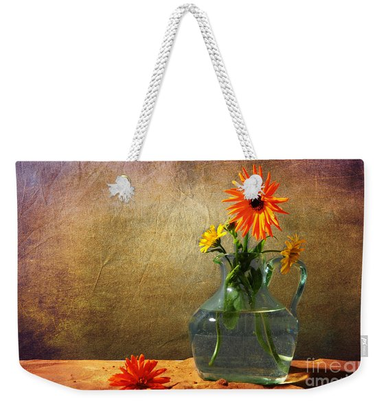 Calendula Officinalis Weekender Tote Bag