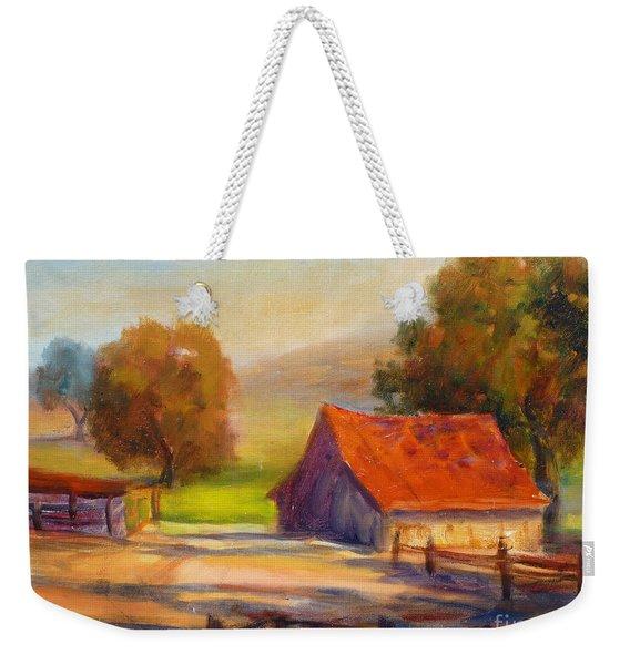 California Barn Weekender Tote Bag