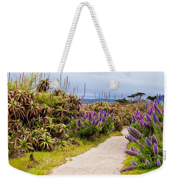 California Coastline Path Weekender Tote Bag