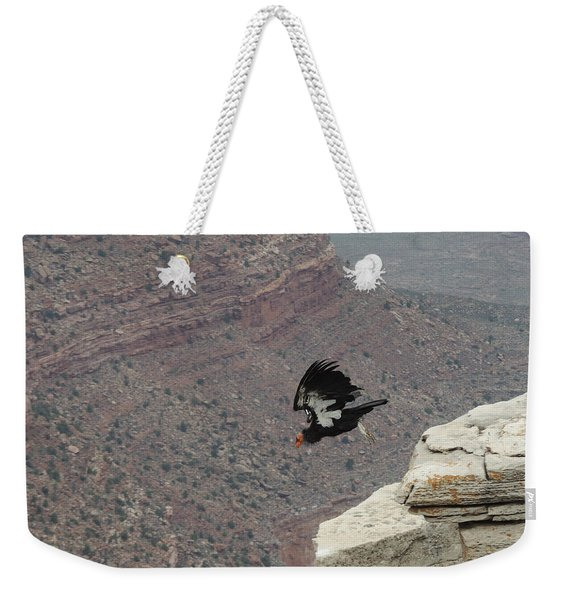 California Condor Taking Flight Weekender Tote Bag